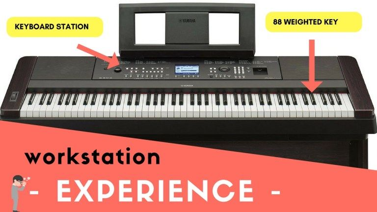Yamaha dgx 650 with its advanced keyboard workstation with and 88 weighted keys