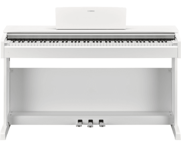 Picture of the yamaha ydp 143 white digital piano
