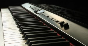 Black DIgital piano
