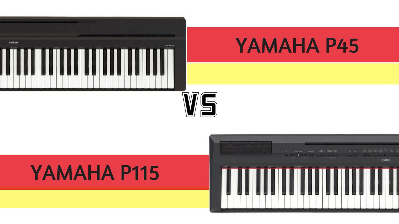 P45 and P115 comparison